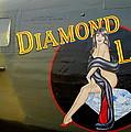 Diamond Lil B-24 Bomber by Amy McDaniel
