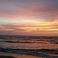 Diamond Shoals Sunset - Outer Banks Nc by Mother Nature