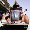 Diamond T Truck - Sahara by Lesa Fine