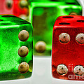 Dice - Boxcars by Paul Ward