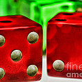 Dice - Lucky Seven by Paul Ward