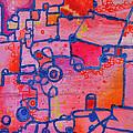 Dichotomy  Original Abstract Oil Painting By Regina Valluzzi by Regina Valluzzi