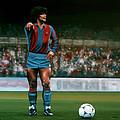 Diego Maradona by Paul Meijering