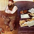 Diego Martelli  by Edgar Degas