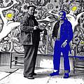Diego Rivera Ted Degrazia  Mexico City Mexico Circa 1942-2013 by David Lee Guss