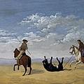 Diez, Joaqu�n 1840. Derribo De La by Everett