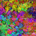 Digiral Abstract Colors Rich by Debbie Portwood