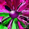 Digital Flower by Gayle Price Thomas