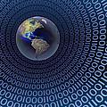 Digital World by Carol and Mike Werner