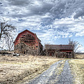 Dilapidated Barn by Donna Doherty