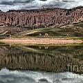 Dillon Pinnacles In Blue Mesa by Adam Jewell