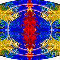 Dimensional Eyesight Abstract Living Artwork By Omaste Witkowski by Omaste Witkowski