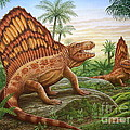 Dimetrodon by Phil Wilson