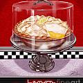 Diner Desserts - Lemon Meringue Pie by Shari Warren