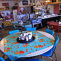 Diner On Route 66 by Frank Romeo
