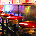 Diner - V2 - Horizontal by Wingsdomain Art and Photography