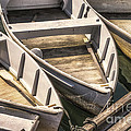 Dinghies Dockside Faded by Jerry Fornarotto
