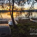 Dinghies On Shoreline by Sheila Smart Fine Art Photography