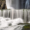 Dingmans Falls Close Up by Michael Ver Sprill