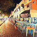Dining Al Fresco In Merida by Mark Tisdale