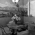 Dining Room In Helena Rubinstein's Home by F. S. Lincoln