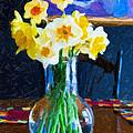 Dining With Daffodils by Jo-Anne Gazo-McKim