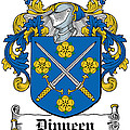 Dinneen Coat Of Arms Irish by Heraldry