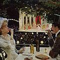 Dinner At Les Ambassadeurs by  Jean Beraud