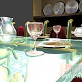 Dinning Table by Artist Nandika  Dutt