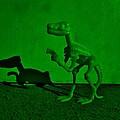 Dino Dark Green by Rob Hans