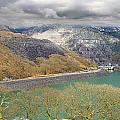 Dinorwig Quarry Lake by Jeff Dalton