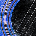 Diptych Wall Art - Macro - Blue Section 1 Of 2 - Giants Colors Music - Abstract by Andee Design