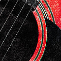 Diptych Wall Art - Macro - Red Section 2 Of 2 - Giants Colors Music - Abstract by Andee Design