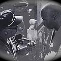 Director Martin Ritt And James Earl Jones Number 2 The Great White Hope Set Globe Arizona 1969-2013 by David Lee Guss
