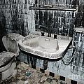 Dirty Bathroom by Mats Silvan