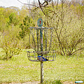 Disc Golf Basket 7 by Phil Perkins