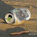 Discarded Energy Drink Can by Ben Schumin