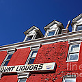 Discount Liquor Store by James Brunker