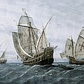 Discovery Of America 1492. The Caravels by Everett