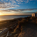 Discovery Park Lighthouse Sunset by Mike Reid