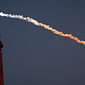 Discovery Sunset Plume by Paul Rebmann