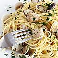 Dish Of Spaghetti With Clams by Antonio Scarpi