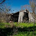Disintegrating Barn Streetman Texas by Trace Ready