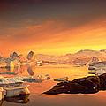Disko Bay, Greenland by Panoramic Images
