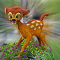 Disney Floral Bambi by Thomas Woolworth