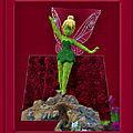 Disney Floral Tinker Bell 02 by Thomas Woolworth
