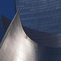 Disney Hall Abstract by Rona Black