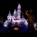 Disneyland Christmas Castle by Anthony Duty