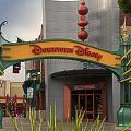 Disneyland Downtown Disney Signage 03 by Thomas Woolworth