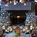 Disneyland Grand Californian Hotel Fireplace 01 by Thomas Woolworth